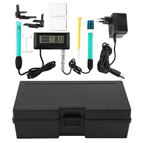 Detector de calidad del agua duradero monitoriza continuamente Monitor multiparámetro PH EC con material ABS de alta calidad (European estándar 220 V)