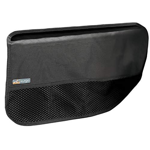 Kurgo K01162 Autotür Hundeabdeckung, Haustierschutz für Autotüren, Wasserdichter Schutz, Einstellbar, Leicht zu reinigen, grau