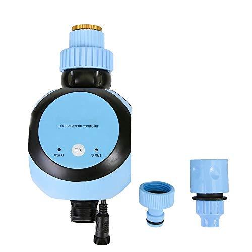 Zhengowen Control de Riego Controlador De Riego Automático Wireless Water Tap Timer and Gateway Faucet Timer Temporizador de Rociadores de Grifos (Color : Azul, Size : EU)