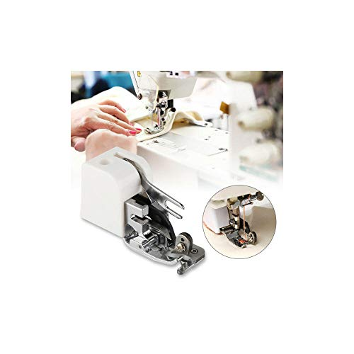 Máquina de coser overlock de corte lateral del prensatelas Herramienta Para el hermano del cantante Janome Blanco