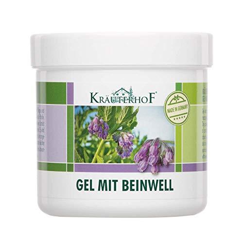 Kräuterhof® Hand und Fuß Gel mit Beinwell, Haut Pflege, kühlend, 250 ml