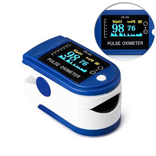 Huishoudelijke Digital vingertop Pulsoximeter Blood zuurstofverzadigingsbereik Meter Finger SPO2 PR Monitor Health Care CE LED,