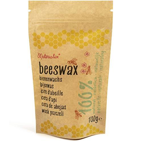 Cera de abejas 100% natural de Materialix (100g)