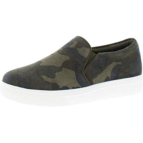Blondo womens Slip-on Sneaker, Camouflage Suede, 8 US