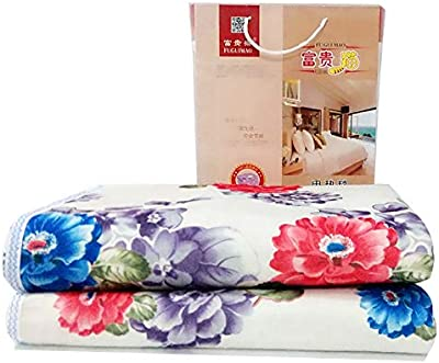 Amazon.com: Twin Size Fleece Blanket Solid Chocolate Soft ...