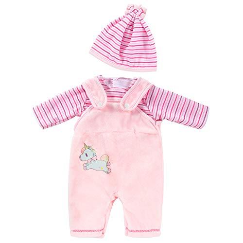 ZOEON Puppenkleidung für New Born Baby Doll, Outfits mit Hut für 18