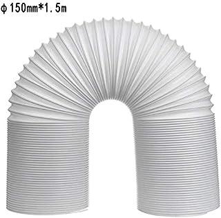 NEW 13/15 cm Diámetro de Escape de Aire Acondicionado portátil Flexible Tubo de ventilación Manguera Tubo conducto de Salida Libre de la extensión (Size : C 150mm*1.5m)