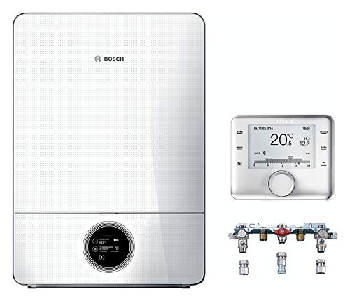BOSCH Junkers Gas-Brennwertgerät System Paket GC9000iW40H Therme Heizung