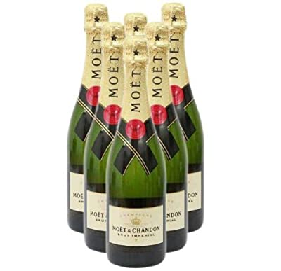 Champagne Box Moet and Chandon Brut Imperial NV 75 cl (Case of 6)
