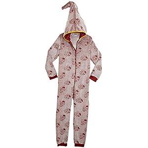 HARRY POTTER Pijamas de Una Pieza Que Brillan En La Oscuridad,Mono Infantil Entero Extra Suave con Capucha de Mago…