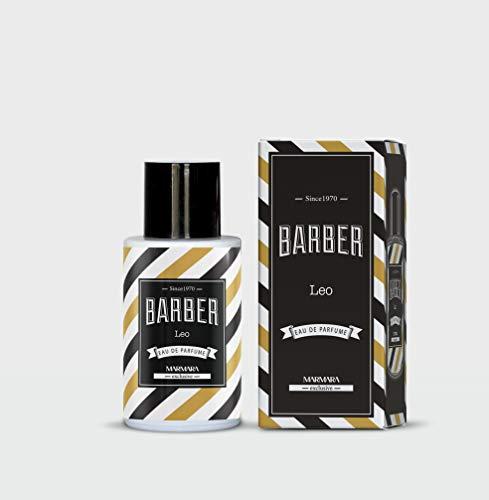 Marmara Barber Eau De Parfume (ALDO,LEO, ENZO) Profumo Uomo 100ml Profumo Di lunga durata A lungo lastingo Intense Unique Fragrance Vaporizer/Spray Men's Fragrance (LEO)