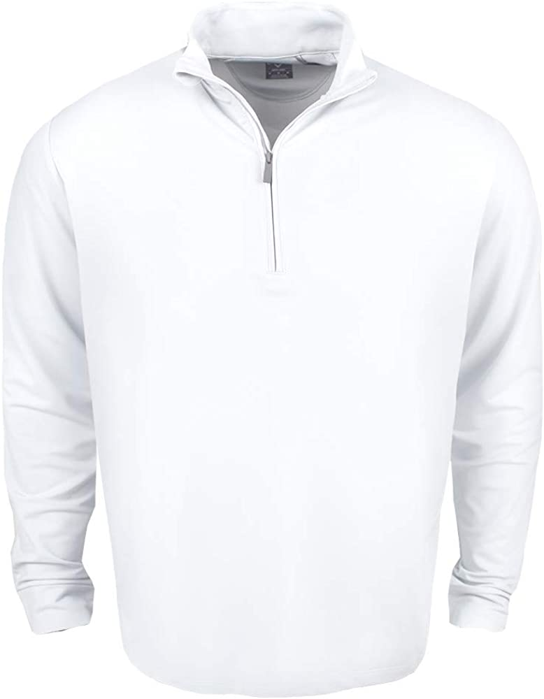 Courier shipping free shipping Callaway Men's Swing Tech Lightweight Max 81% OFF Pullover 1 4 Golf Zip