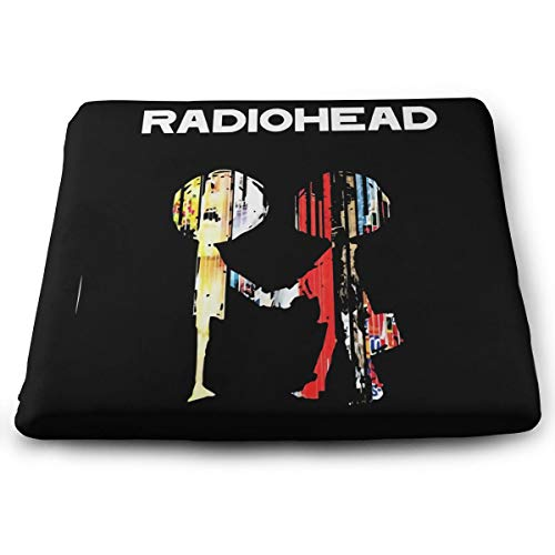 The Best of Radioheadfloor Pillow Square Meditation Yoga Seating Cushion Cotton Linen Indian Pillow for Home Decor Garden Party