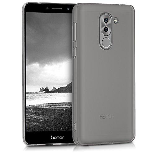 kwmobile Huawei Honor 6X / GR5 2017 / Mate 9 Lite Hülle - Handyhülle für Huawei Honor 6X / GR5 2017 / Mate 9 Lite - Handy Hülle in Dunkle Grau