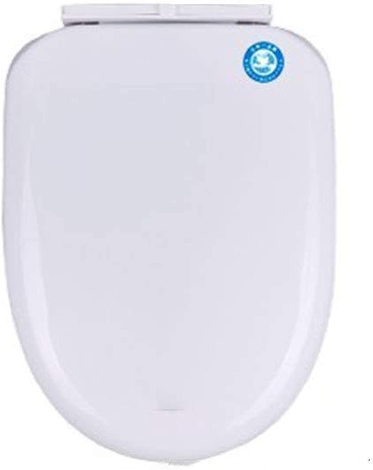 WYPJ Toilet Seat Toilet Seat Universal Toilet Seat Thickened Slow Down Mute Toilet Lid For O U V Shape Toilet Anti-Bacterial Toilet Seat (Size   4044cm3637cm)