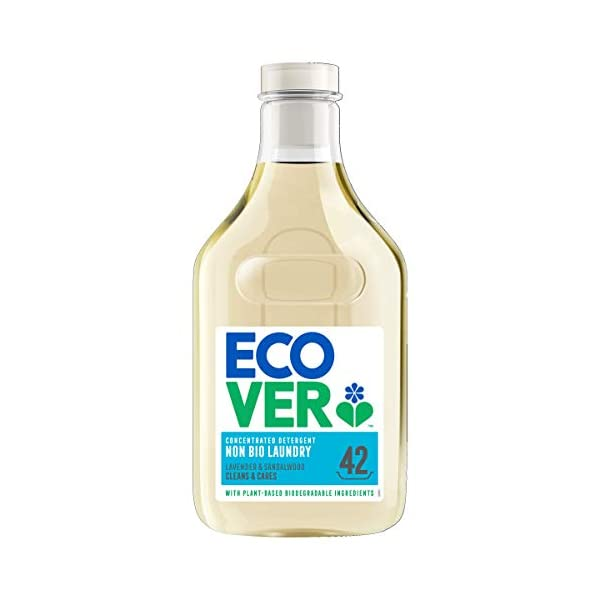 Ecover Non Bio Laundry Detergent, Lavender & Sandalwood, 42 Washes