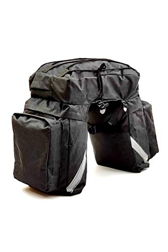 Accesorios de decoración de coches 45 LT Paquete de equipaje Multifunción Scooter Portador de bicicletas Impermeable Motocicleta Motocross Bolsa de asiento trasero Mochila de montar al aire libre