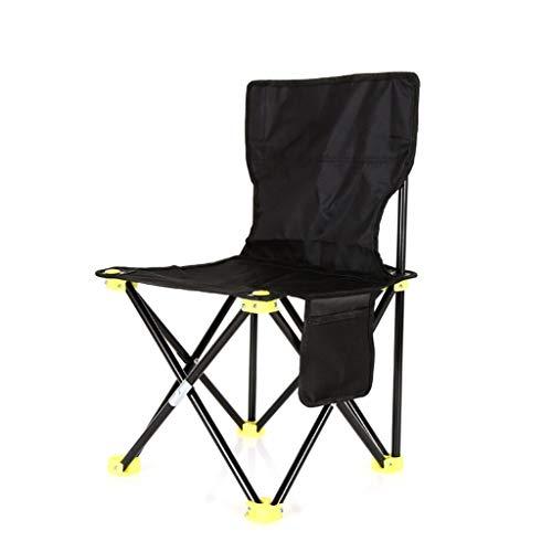 Kantoorstoel Vouwen Outdoor Kruk Draagbare Rugleuning Rest Kruk Vissen Picknick Kruk Schets Kruk Balkon Stoel 60cm