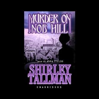 Murder on Nob Hill audiobook cover art