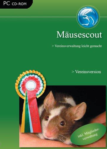 Mäusescout Vereinsversion, CD-ROM Vereinsverwaltung leicht gemacht. Für Windows 98/Me/2000/XP