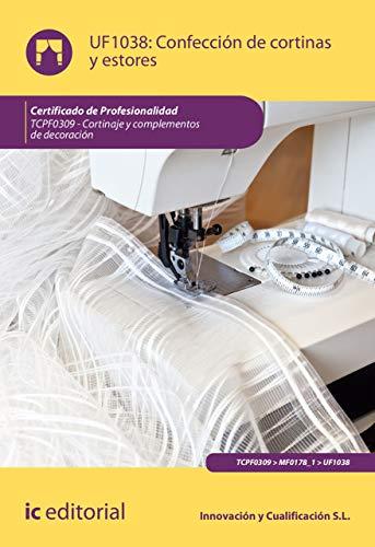 Confección de cortinas y estores. TCPF0309