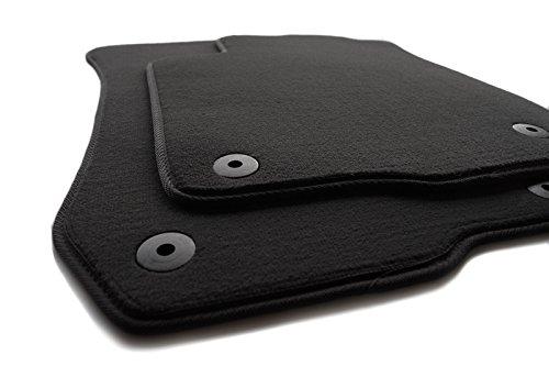 Fußmatten TT TTS 8N Velours Automatten Original Qualität 2-teilig schwarz