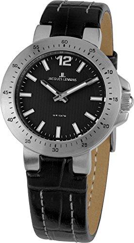 Jacques Lemans Damen-Armbanduhr XS Milano Analog Leder 1-1719A