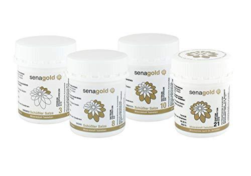 Schüssler Salze Immun-Kur - Nr. 3, 8, 10 und 21 je 400 Tabl.