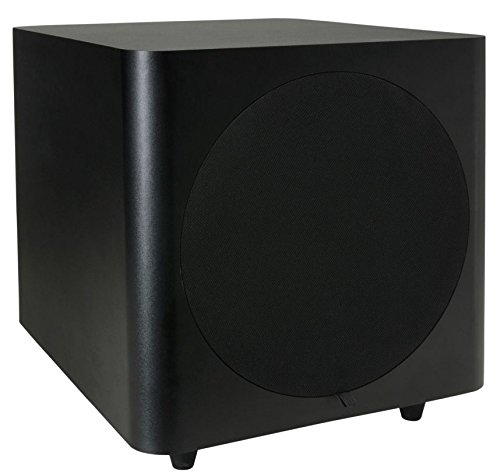 Dayton Audio SUB-800 8-Inch 80 Watt Powered Subwoofer (Black)