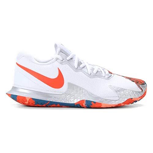 Nike AIR Zoom Vapor Cage 4 HC, (bianco/arancione), 10