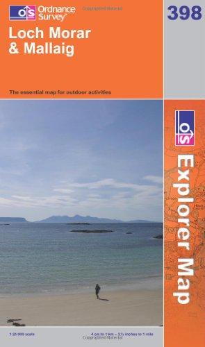 OS Explorer map 398 : Loch Morar & Mallaig