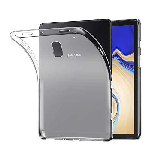 Lobwerk Capa para Samsung Galaxy Tab S4 SM-T830 / SM-T835 10,5 polegadas ultra fina à prova de choque capa macia transparente