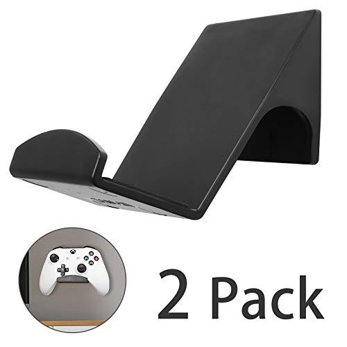 2 Pack Universal Game Controller Wandhalterung Ständer Halter für Xbox One, Series X, PS5, PS4, PS3, Switch, Steelseries Gamepad und mehr, Stadionsitze