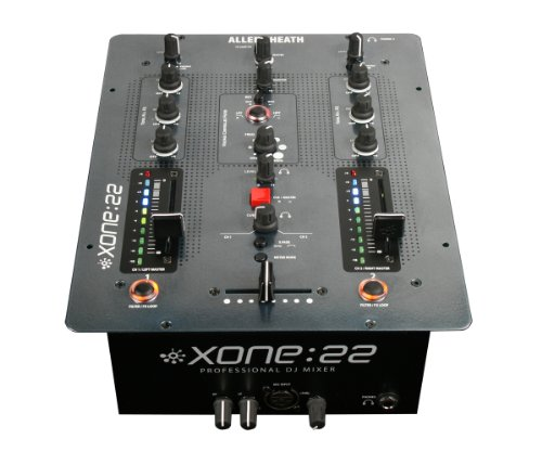 Allen & Heath Xone:22 Professional 2 Channel DJ Mixer