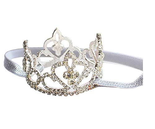 MyRalice Baby Girls Crystal Crown Hair Belt Crown Tiara Headband Baby Photography Headband Props