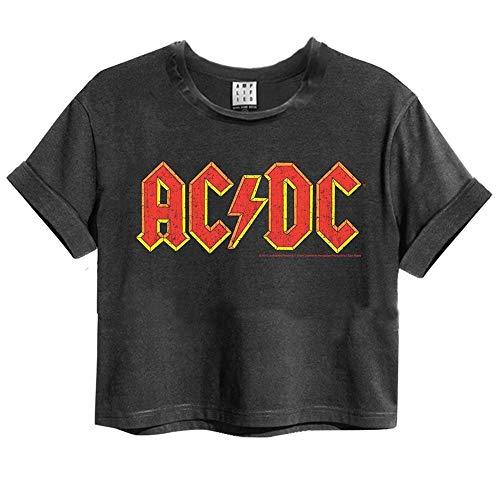 Amplified Crop Top Woman T-Shirt