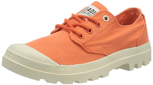 Palladium Ox Organic U, Zapatillas Unisex Adulto, Naranja (Orange 033), 46 EU