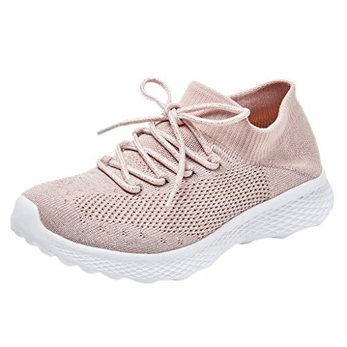 Enfants Chaussures de Course Running Fille Outdoor Sneakers Gar/çon Mixte
