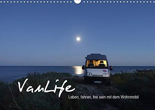 Vanlife - Leben, fahren, frei sein mit dem Wohnmobil (Wandkalender 2020 DIN A3 quer): Camping im Van - schön und frei (Monatskalender, 14 Seiten ) (CALVENDO Natur)