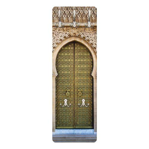 139x46x2cm Appendiabiti da Muro Appendiabiti da Parete Bilderwelten Appendiabiti Dimensione: 139cm x 46cm Shabby Brick Wall Appendiabiti Design Appendiabiti a Muro