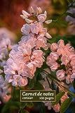 Carnet de notes cerisier: fleur belle, cerisier japonais en fleur, carnet à motif floraux, cerisier du japon pleureur, 100 pages lignées , format 6 x ... idée cadeau pour les fêtes et anniversaires.