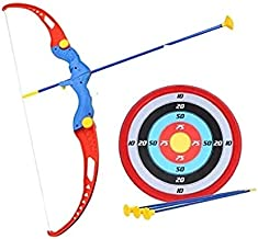 Vikas Gift Gallery Kids Archery Bow and Arrow Toy Set with Target Outdoor Garden Fun Game for Kids, Boys, Girls, Children