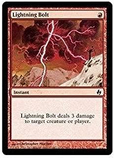 Magic: the Gathering - Lightning Bolt - Premium Deck Series Fire & Lightning - Foil
