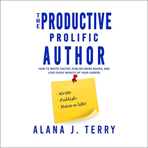 The Productive, Prolific Author audiobook cover art