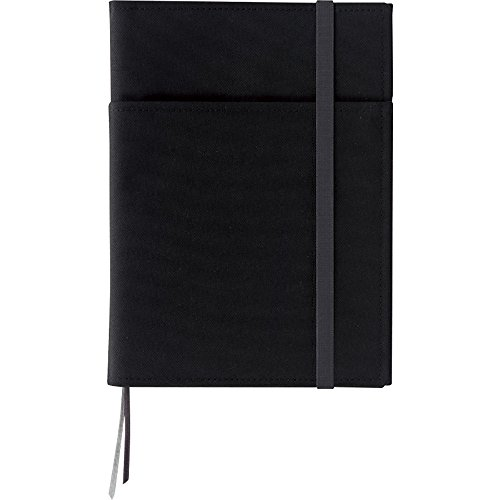 Kokuyo Systemic Refillable Notebook Cover - Twin Ring Notebook with Edge Title - A5 (5.8
