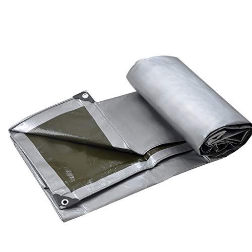 WWWANG Protección Solar de la sombrilla Lluvia de Vapor Engrosada Camión Cubierta de Copas de plástico Impermeable de Tela de Lona Shed (Size : 4x6m)