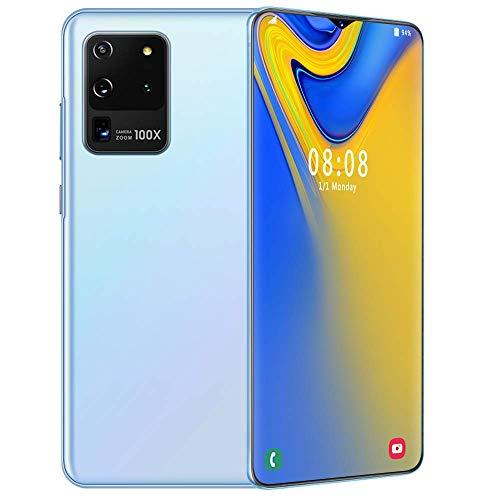 S20U 4G Smartphone Ohne Vertrag,6.7 Zoll HD Android 10.0 Wassertropfen Bildschirm Handy,13+24MP Dual Kamera Dual SIM-frei Entriegelt Mobile Phone,Facial Freigeschaltet,512GB ROM