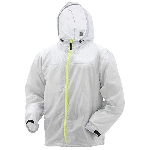 Frogg Toggs Xtreme Lite Waterproof Rain Jacket, Medium, Smoke/Hi-Vis