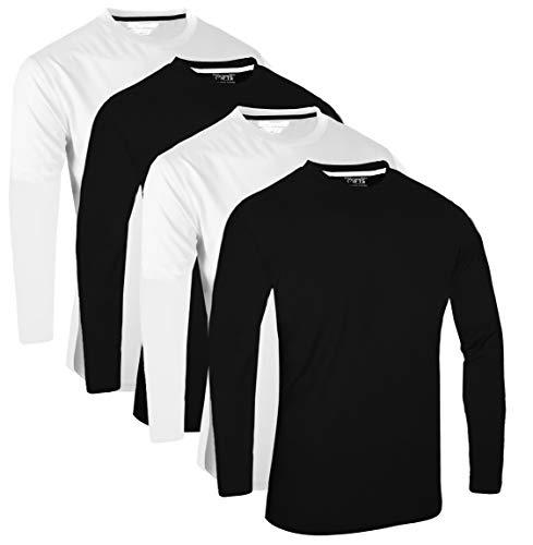 Camisetas Termicas Hombre Manga Larga Cuello Alto Marca FULL TIME SPORTS