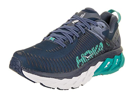 Price comparison product image HOKA ONE ONE Women's Arahi 2 Running Shoe Poseidon / Vintage Indigo Size 7 M US